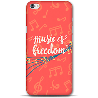 IPhone 6-6s Designer Hard-Plastic Phone Cover From Print Opera - Music Is Freedom
