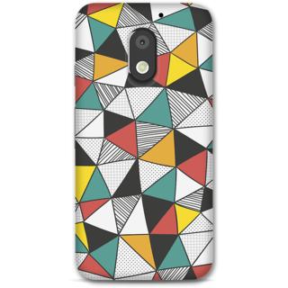 Moto E3 Power Designer Hard-Plastic Phone Cover From Print Opera -Holographic