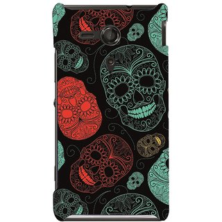 Snooky Digital Print Hard Back Case Cover For Sony Xperia Sp M35h Td10848