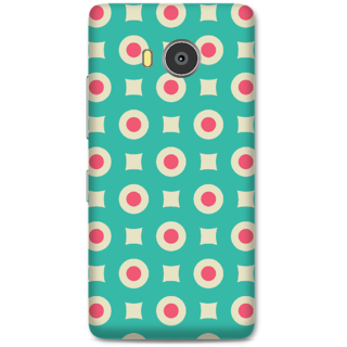 Lenovo A7700 Designer Hard-Plastic Phone Cover From Print Opera -Red Dots