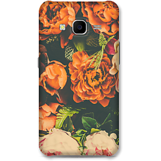 Samsung Galaxy J7 2015 Designer Hard-Plastic Phone Cover From Print Opera -Flowers