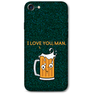 Iphone 7 Designer Hard-Plastic Phone Cover From Print Opera -Cup Of Beer