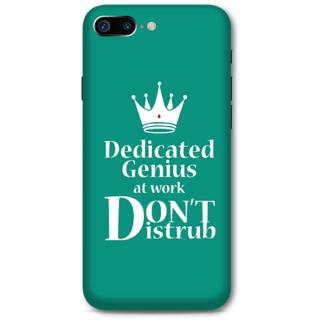 Iphone 7 Plus Designer Hard-Plastic Phone Cover From Print Opera -Don'T Disturb