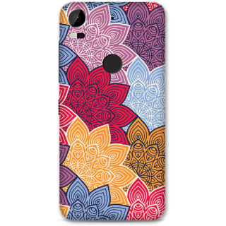 HTC 10 Pro Designer Hard-Plastic Phone Cover From Print Opera -Colored Designer Flowers