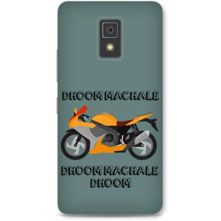 Lenovo A6600 Designer Hard-Plastic Phone Cover From Print Opera -Dhoom Machale