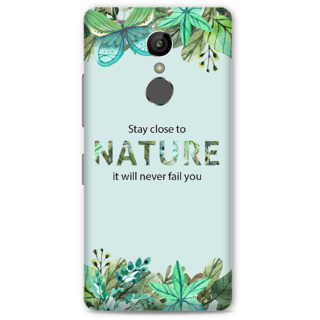 Gionee S6S Designer Hard-Plastic Phone Cover From Print Opera -Stay Close To Nature It Will Never Fail You