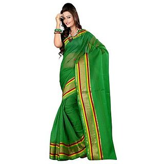 Indian Beauty Multicolor Georgette Animal Saree With Blouse