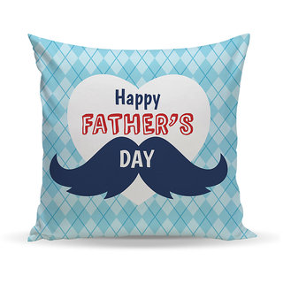 Sky Trends Father Gift Printed Cushion Cover Best Gift For Father Day Birthday And Anniversery