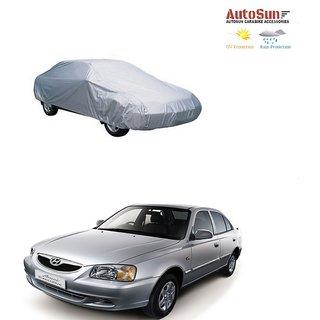 AutoSun Car Body Cover Silver Metty -  Hyundai Accent