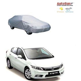 AutoSun Car Body Cover Silver Metty -  Honda Civic