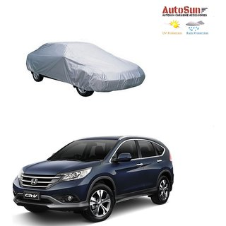 AutoSun Car Body Cover Silver Metty -  Honda CRV (2014 Upwards)