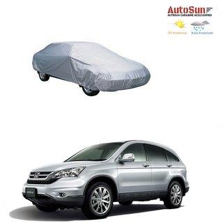 AutoSun Car Body Cover Silver Metty -  Honda CRV (Till 2014)