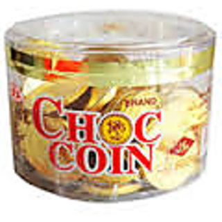Gold Coin Chocolate Box