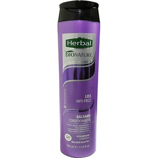 Herbal Bionature Improved Liss Anti Frizz Balsamo Conditioner  (350 ml)