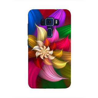 Print Masti Laughing Images Of Owls Desig Back Cover For Asus Zenfone 3 Laser ZC551KL (5.5 Inches)
