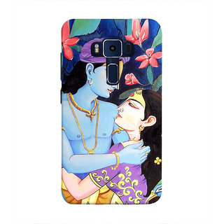 Print Masti Stylish Zodiac Sign Back Cover For Asus Zenfone 3 Deluxe ZS570KL (5.7 Inches)