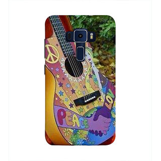 Print Masti Lovely Funky Message For Youth In Black Background Desgin Back Cover For Asus Zenfone 3 Laser ZC551KL (5.5 Inches)