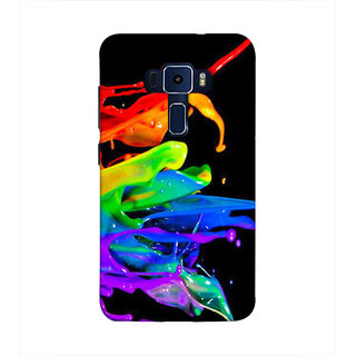 Print Masti Lovely Message For Youth In Black Background Design Back Cover For Asus Zenfone 3 Laser ZC551KL (5.5 Inches)