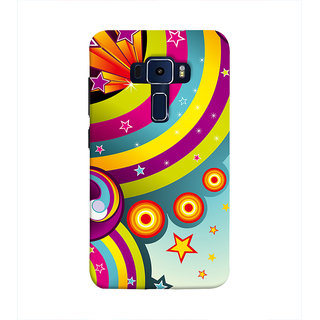 Print Masti Lovely Message Of Find Way For Showing Attitude To Others Design Back Cover For Asus Zenfone 3 Laser ZC551KL (5.5 Inches)
