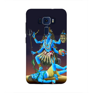 Print Masti Stylish Tauras Sunsign Design Back Cover For Asus Zenfone 3 Laser ZC551KL (5.5 Inches)