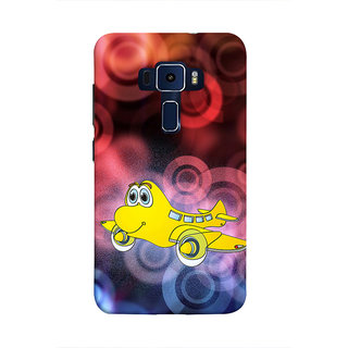 Print Masti Beautiful Aries Sunsign Design Back Cover For Asus Zenfone 3 Laser ZC551KL (5.5 Inches)