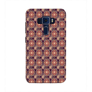 Print Masti Cute Animated Dog Holding Leg Of Peacock Design Back Cover For Asus Zenfone 3 Laser ZC551KL (5.5 Inches)