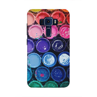 Print Masti Saint Doing Devotional Activity In Water Back Cover For Asus Zenfone 3 Laser ZC551KL (5.5 Inches)