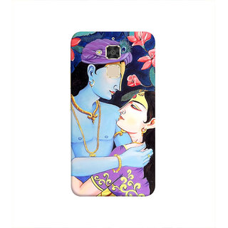 Print Masti Motivated Message Showing Love For Life Design Back Cover For Asus Zenfone 3 Max ZC520TL (5.2 Inches)