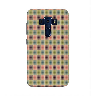 Print Masti Artistic Painting Of Colorful Floral Owl Design Back Cover For Asus Zenfone 3 Laser ZC551KL (5.5 Inches)