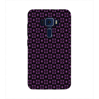 Print Masti Beautiful Red Curtain Design Back Cover For Asus Zenfone 3 Laser ZC551KL (5.5 Inches)