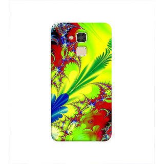 Print Masti Lovely Ethnic Classic Festival Design Back Cover For Asus Zenfone 3 Max ZC520TL (5.2 Inches)