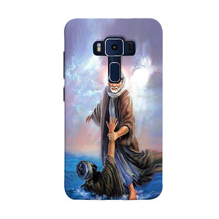 Print Masti Cute People Of Different Cast And Style Are Standing Together Design Back Cover For Asus Zenfone 3 Deluxe ZS570KL (5.7 Inches)