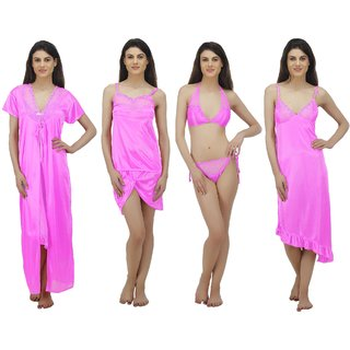 f00de7c55d Buy Arlopa 6 Pieces Nightwear Set in Satin Online - Get 70% Off