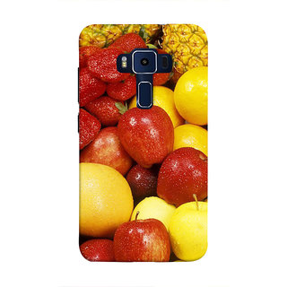 Print Masti Artistic Natural View Of Tree In Spring Season Design Back Cover For Asus Zenfone 3 Deluxe ZS570KL (5.7 Inches)