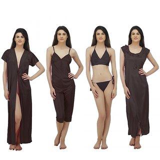 23993d536f Buy Arlopa 6 Pieces Nightwear Set in Satin Online - Get 74% Off