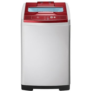 Samsung WA85E5QEC and TL Fully-automatic Top-loading Washing Machine (6.5 Kg, Light Grey Body and Sparkling Scarlet Wine Top)