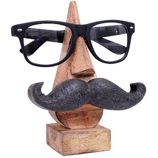 Craftgasmic Mr.Moustasche spectacles holder ( Detachable moustasche)