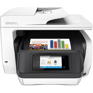 HP OfficeJet Pro 8720 All-in-One Printer (Print, Scan, Copy, Fax, Network, Wireless, Duplex, NFC) (D9L19A)