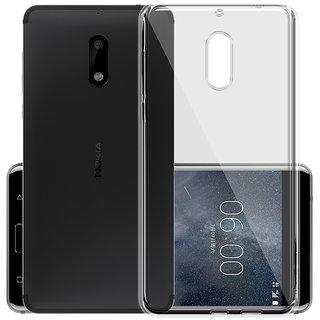 Nokia 6 Transparent Soft Back Cover