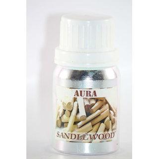 AuraDecor Pure Undiluted Highly Fragrance Aroma Oil (SandalWood)(100ml)
