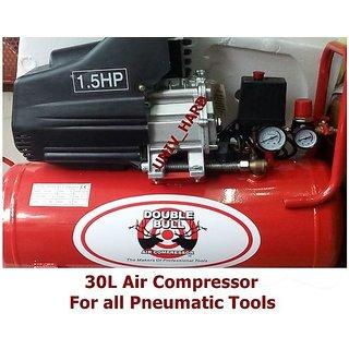 Buy 30l air compressor for all pneumatic tools car for Air compressor for auto painting