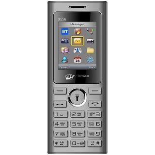 Micromax X556 (Wireless FM,Voice Call Recording,Camera) (Dual Sim) (Grey)