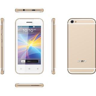ZEN Flair Dual SIM Touch Phone (Champagne Gold)