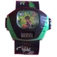 Ben 10 Projection Watch Black Kids Watch