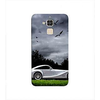 Print Masti Cute Love Couple Is Closing Each Other Design Back Cover For Asus Zenfone 3 Max ZC520TL (5.2 Inches)