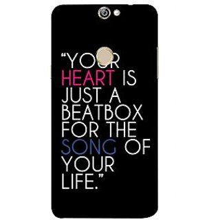 Print Masti Lovely Pink Ethnic Lines Design Back Cover For Coolpad Max A8