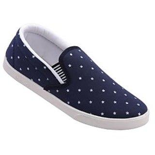WALKAROO Men's Blue Colour Loafers