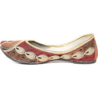 Lavennder Women's Red Jutti