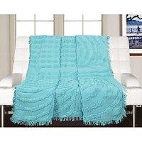 Saral Home Soft Cotton Tufted Sofa Cover -130x160 cm