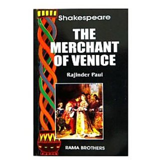 Shakespeare : The Merchant of Venice 170.00 (Text with Notes) by  RAJINDER PAUL